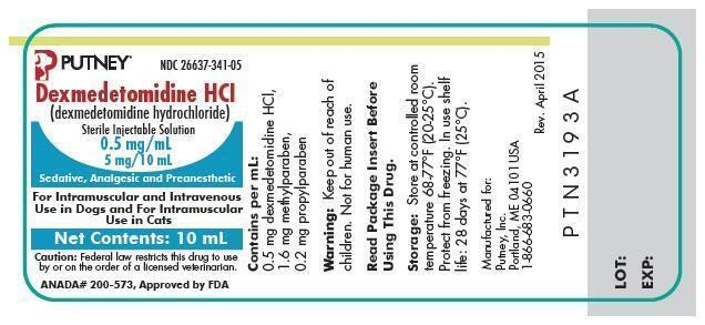 10 mL vial label