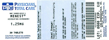 image of 1.25 mg package label