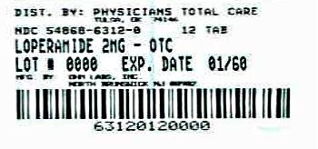 Loperamide Hydrochloride   Physicians Total Care, Inc. Breastfeeding