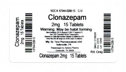 Bottle Label 2mg