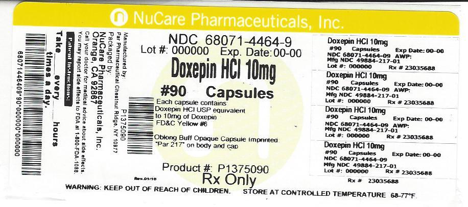 Doxepin Hydrochloride 10 Mg Breastfeeding