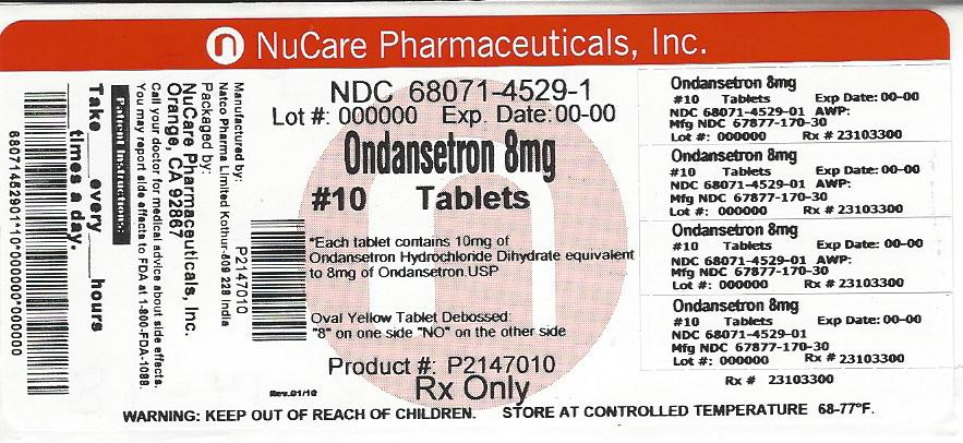 Ondansetron   Nucare Pharmaceuticals,inc. Breastfeeding