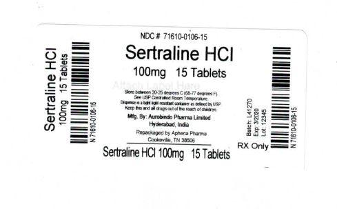 Sertraline Hydrochloride | Aphena Pharma Solutions - Tennessee, Llc Breastfeeding