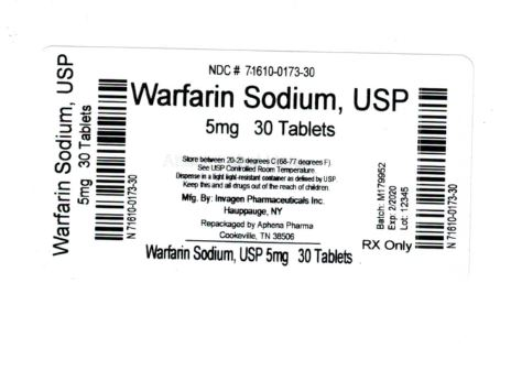 Bottle Label 5 mg