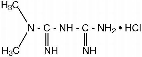 Chemical Structure-Glumetza