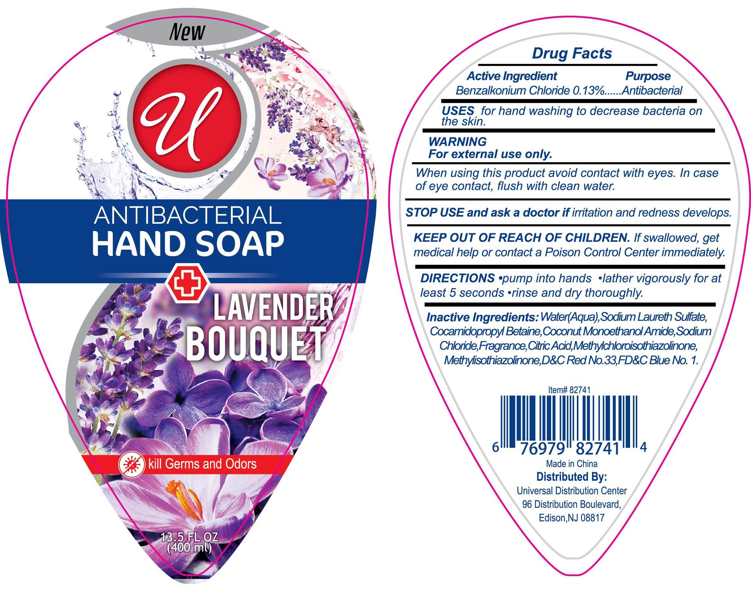 Antibacterial Handwash Lavender Bouquet | Benzalkonium Chloride 0.13 G In 100 Ml Breastfeeding