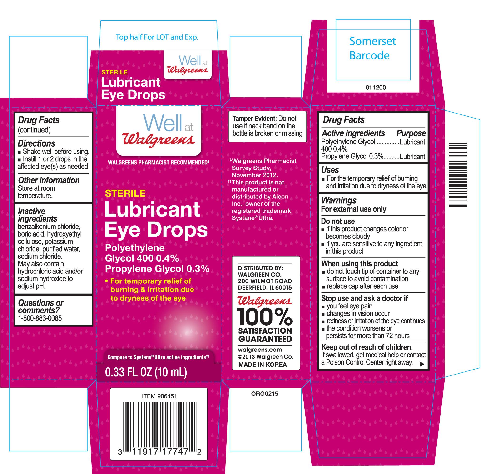 Lubricant Eye   Polyethylene Glycol 400 4 Mg, Propylene Glycol 3 Mg Breastfeeding