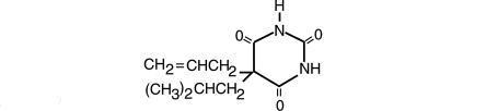 Butalbital, Aspirin And Caffeine Butalbital 2 Mg, Aspirin 2 Mg, Caffeine 2 Mg and breastfeeding