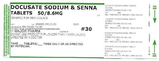 Senna/docusate Sodium   Sennosides 10 Mg, Docusate Sodium 10 Mg Breastfeeding
