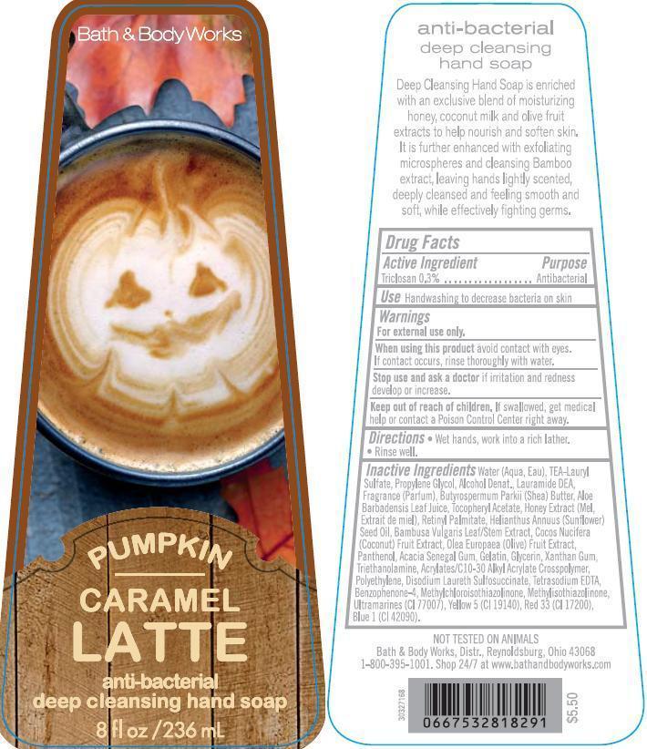 Anti-bacterial Deep Cleansing Hand Pumpkin Caramel Latte | Triclosan Soap while Breastfeeding