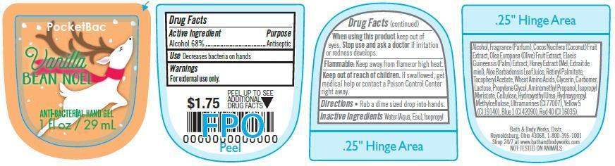Anti-bacterial Hand Vanilla Bean Noel | Bath & Body Works, Inc. while Breastfeeding