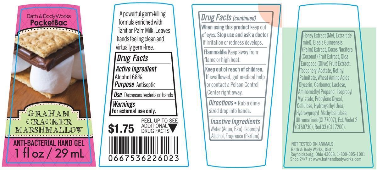 Anti-bacterial Hand Graham Cracker Marshmallow   Alcohol Gel Breastfeeding