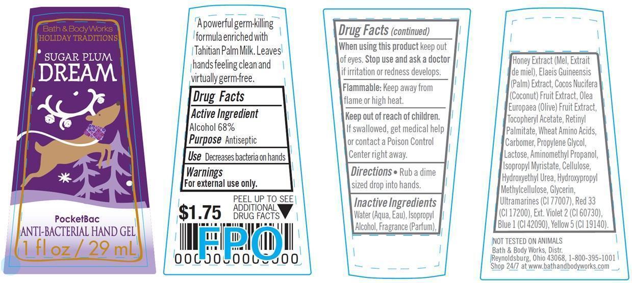 Anti-bacterial Hand Sugar Plum Dream   Alcohol 68 Ml In 100 Ml Breastfeeding