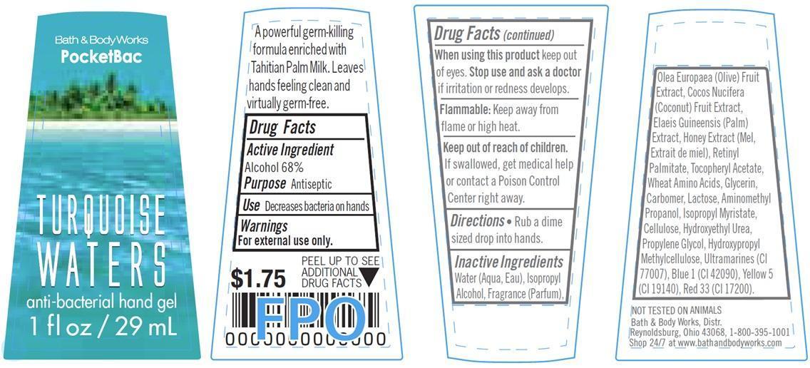 Anti-bacterial Hand Turquoise Waters | Alcohol Gel Breastfeeding