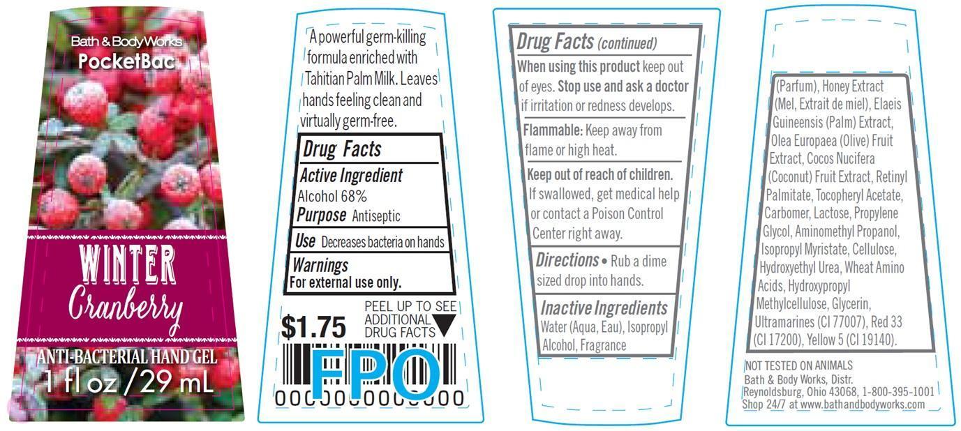 Anti-bacterial Hand Winter Cranberry | Alcohol Gel Breastfeeding