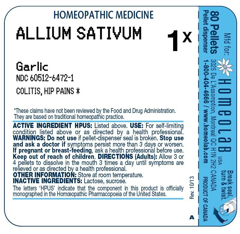 Allium Sativum Pellet Breastfeeding