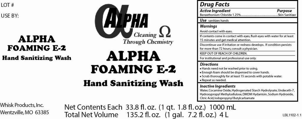 Alpha Foaming E-2   Benzethonium Chloride Soap Breastfeeding