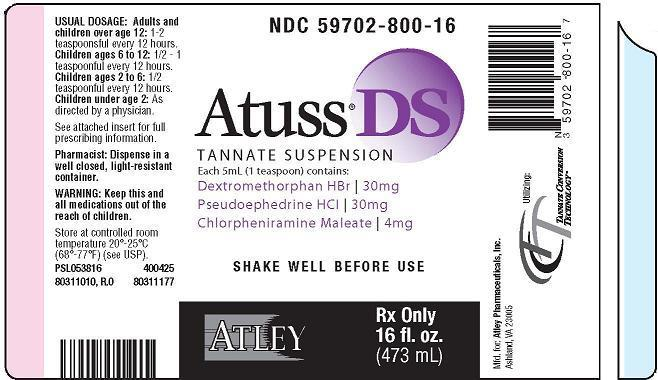 Atuss Ds Tannate Suspension | Tannate Suspension Suspension Breastfeeding