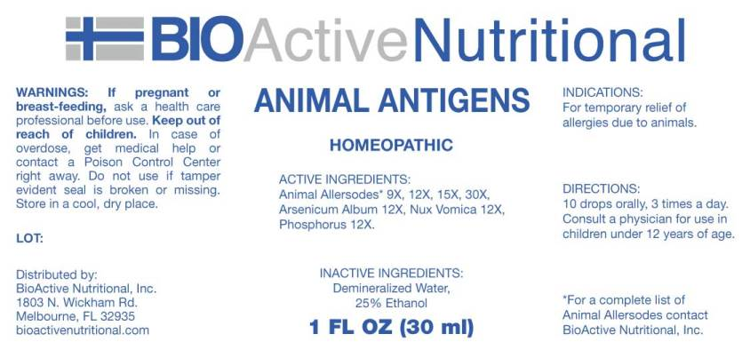 Animal Antigens