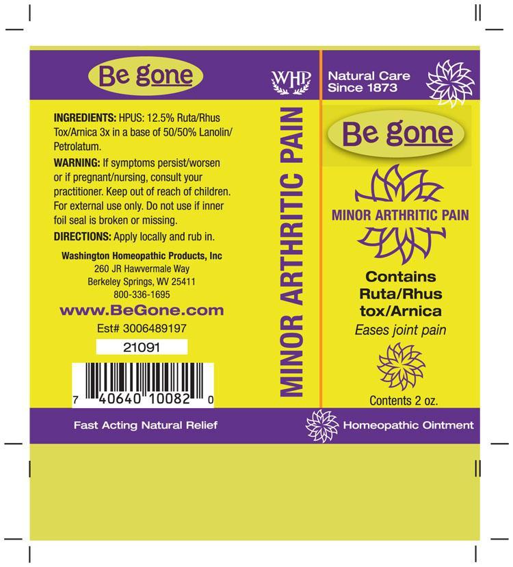 Be Gone Minor Arthritic Pain Tm | Arnica Montana - Rhus Toxicodendron - Ruta Graveolens Ointment while Breastfeeding