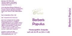 Berberis Populus Liquid Breastfeeding