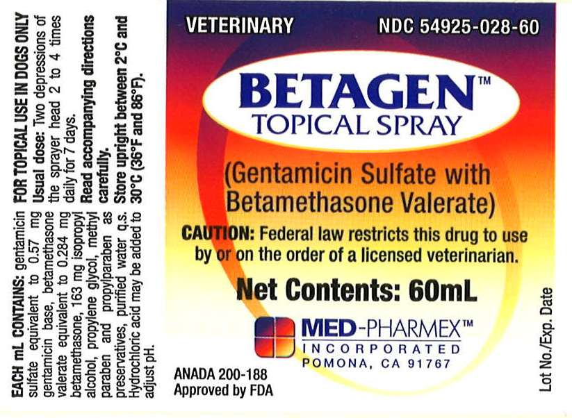Betagen Topical Spray 60mL