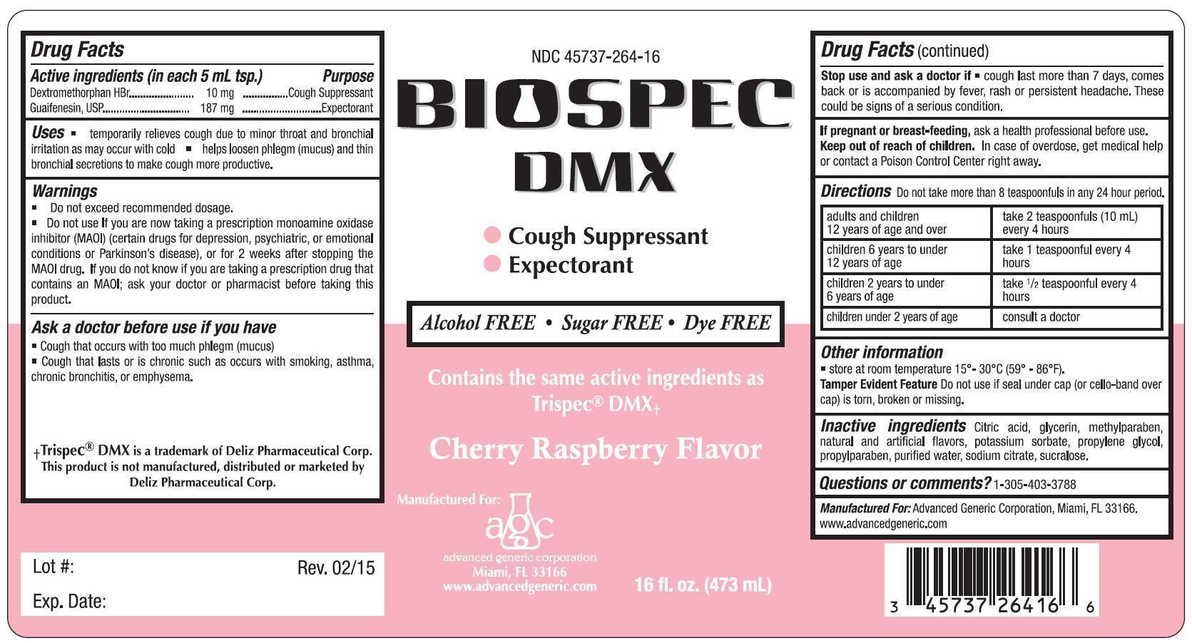 Biospec Dmx | Dextromethorphan, Guaifenesin Liquid Breastfeeding