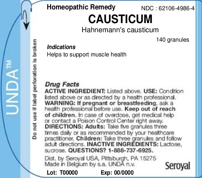 Causticum | Hahnemanns Causticum Granule Breastfeeding
