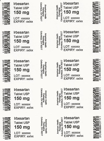 150 mg Irbesartan Tablet Blister