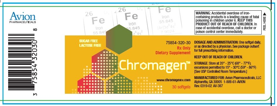 chromagen label