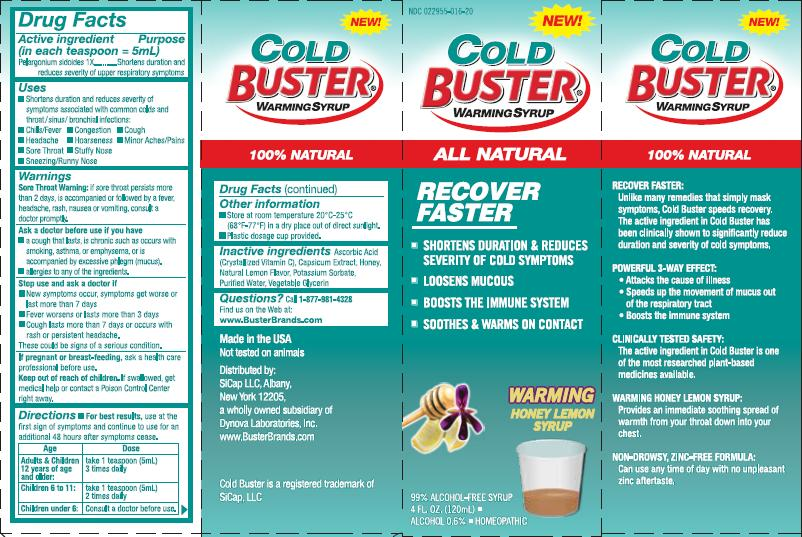 Cold Buster Label