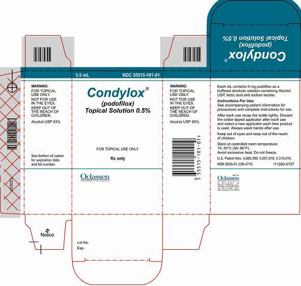 Condylox   Podofilox Solution Breastfeeding