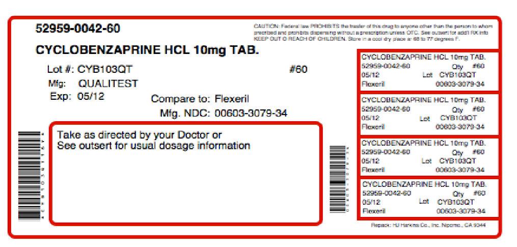Is Therabenzaprine-60 | Cyclobenzaprine Hydrochloride, .gamma.-aminobutyric Acid Kit safe while breastfeeding
