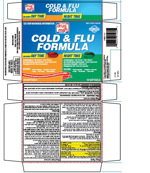 Day Time And Night Time Cold And Flu Formula while Breastfeeding