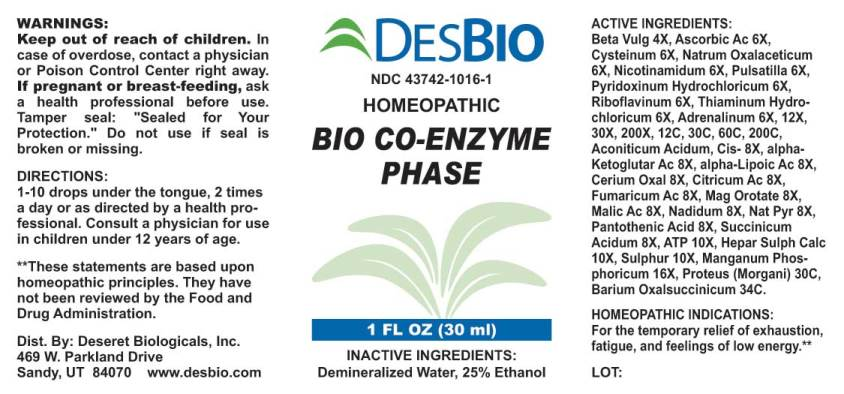 Bio Co-Enzyme Phase