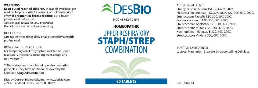 Upper Respiratory Staph/Strep Combination