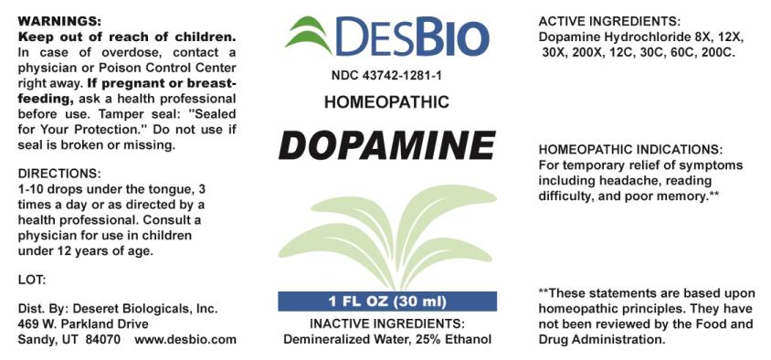 Dopamine 8 [hp_x] In 1 Ml Breastfeeding