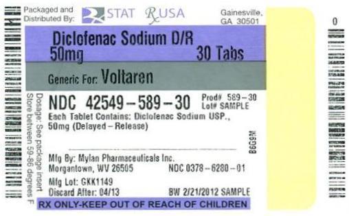 Diclofenac Sod Dr