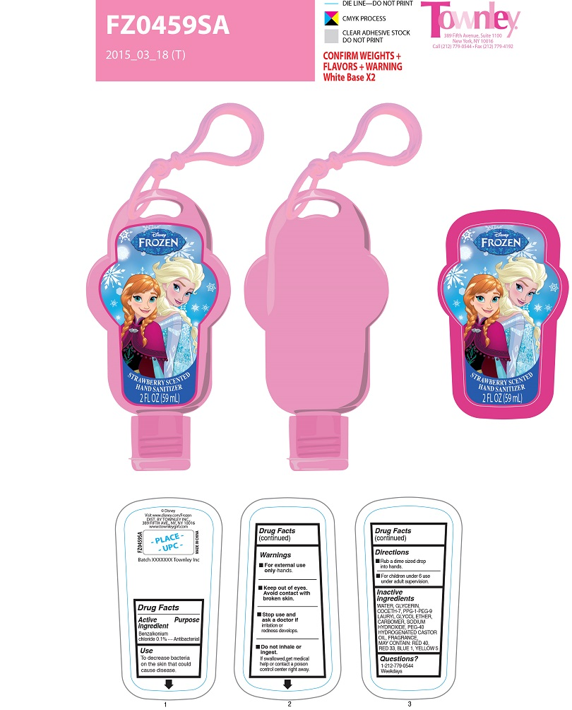 Disney Frozen Strawberry Hand Sanitizer | Benzalkonium Chloride Gel while Breastfeeding