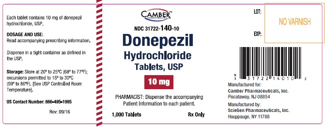 Donepezilcontainer10mg