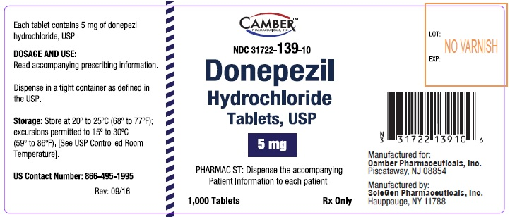 Donepezilcontainer5mg