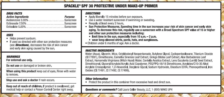Laura Geller Beauty Tuscan Sun Spackle Spf 30 Protective Under Make-up Primer Fair Breastfeeding