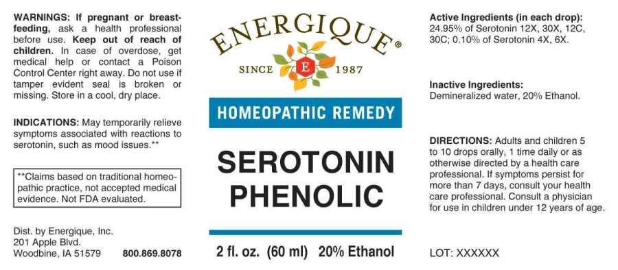 Serotonin Phenolic | Serotonin Liquid Breastfeeding