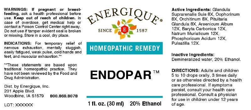 Endopar   Energique, Inc. Breastfeeding