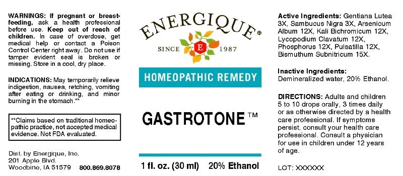 Gastrotone Breastfeeding