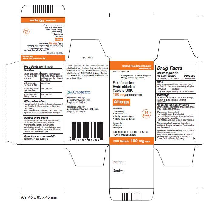 Is Fexofenadine Hydrochloride Fexofenadine Hydrochloride 990 Ml safe while breastfeeding