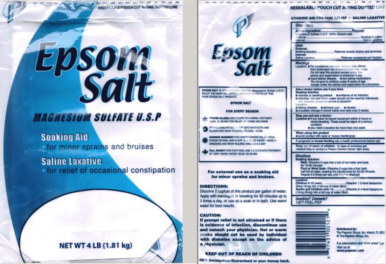 Flying P Epsom Saltdrug Facts