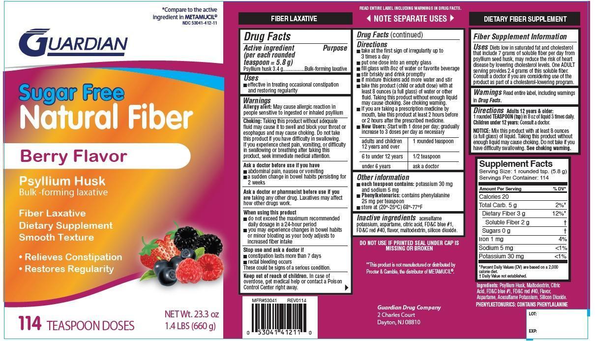 Sugar Free Smooth Texture, Berry Flavor   Psyllium Husk Powder, For Suspension Breastfeeding