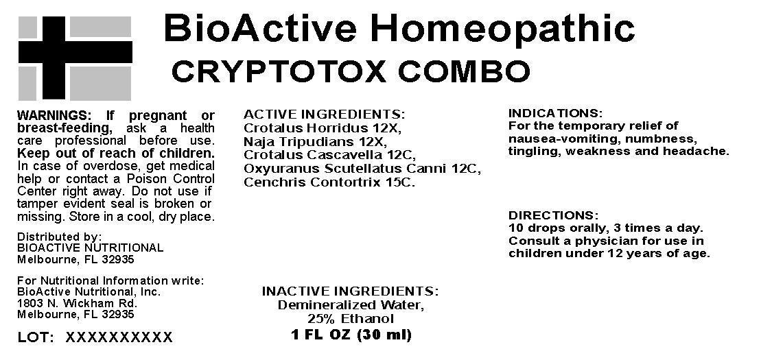 Cryptotox Combo Breastfeeding