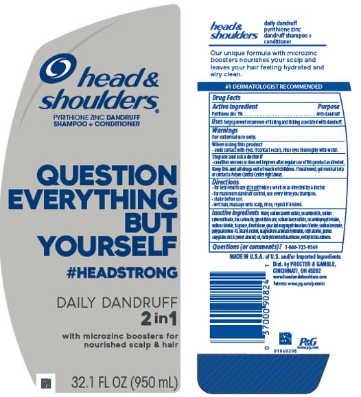 Head And Shoulders Headstrong Daily Dandruff 2in1 | Pyrithione Zinc Shampoo while Breastfeeding